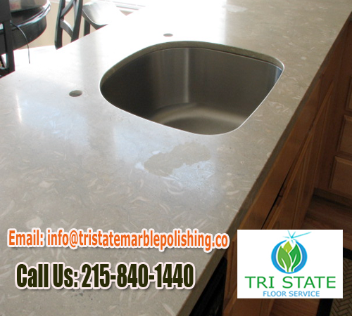 Polishing Marble Countertops In Berwyn Area Marble Materials Start Becoming  Brittle. When A Pointed Hard