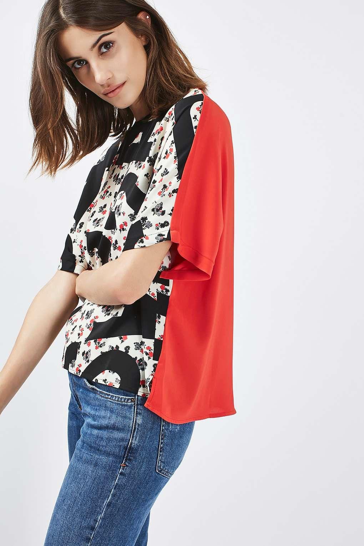 Re-Gen Letter T-Shirt - Tops - Clothing - Topshop Europe