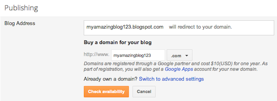How to host your Blogger blog on your own custom domain / subdomain - it's easy, just follow these steps!