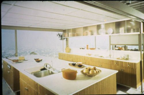 Stahl residence, kitchen, Los Angeles, 2000? :: Stahl residence, kitchen, Los Angeles, 2000? :: Architectural Teaching Slide Collection. http://digitallibrary.usc.edu/cdm/ref/collection/p15799coll42/id/110
