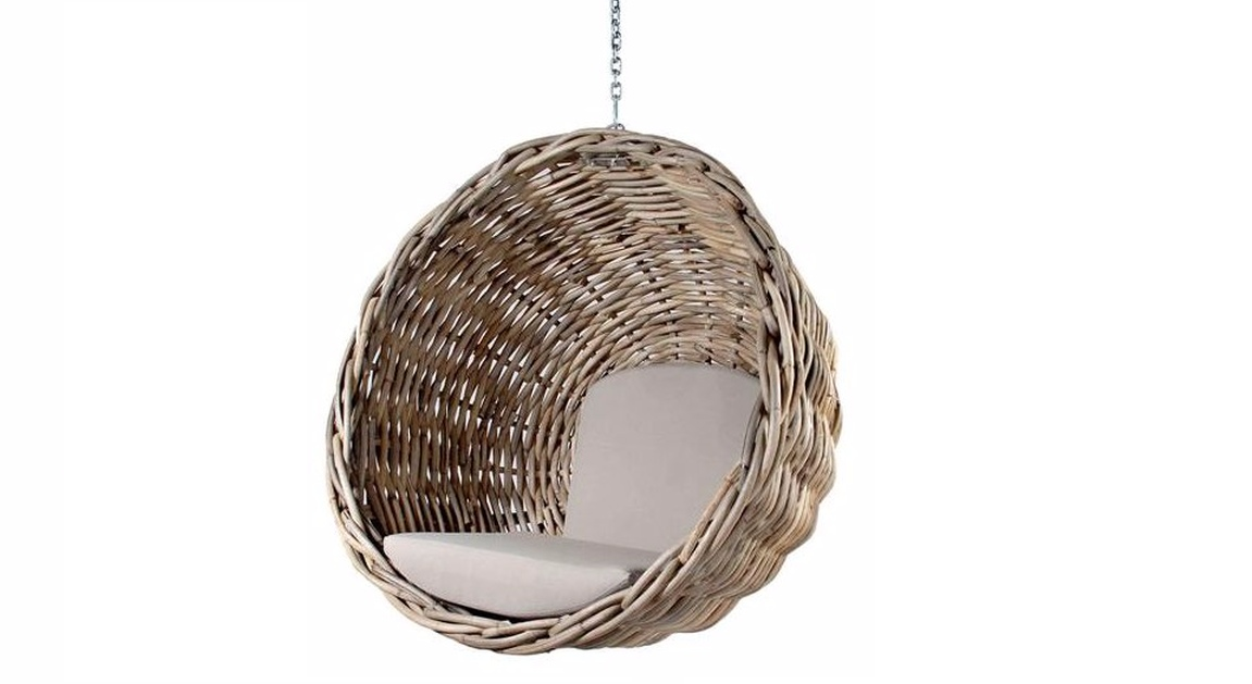 Zulu Hanging Chair Natural Hanging Chair Hanging Egg Chair Pod Chair