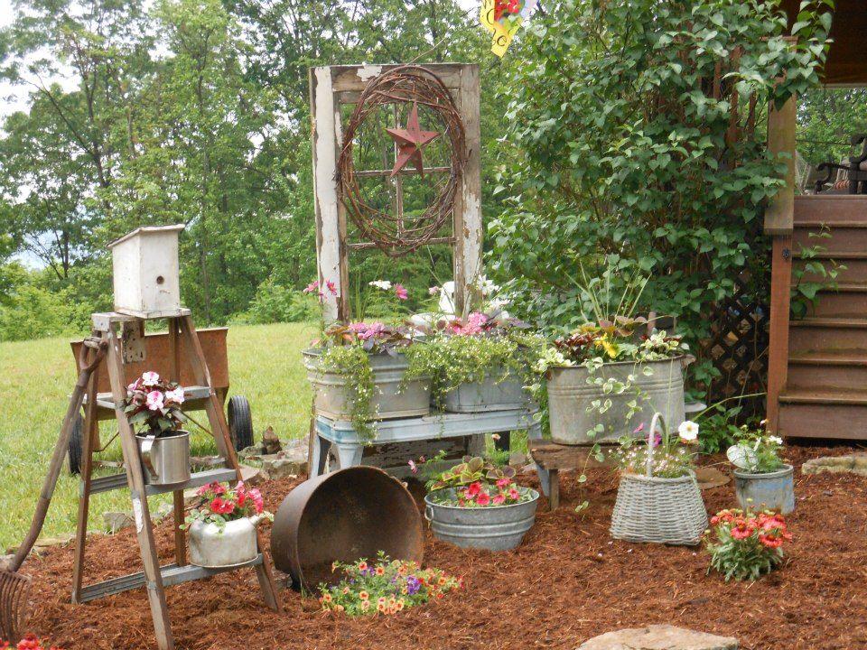 Very cool idea! GARDENS Pinterest Jardinería, Jardín y Jardín