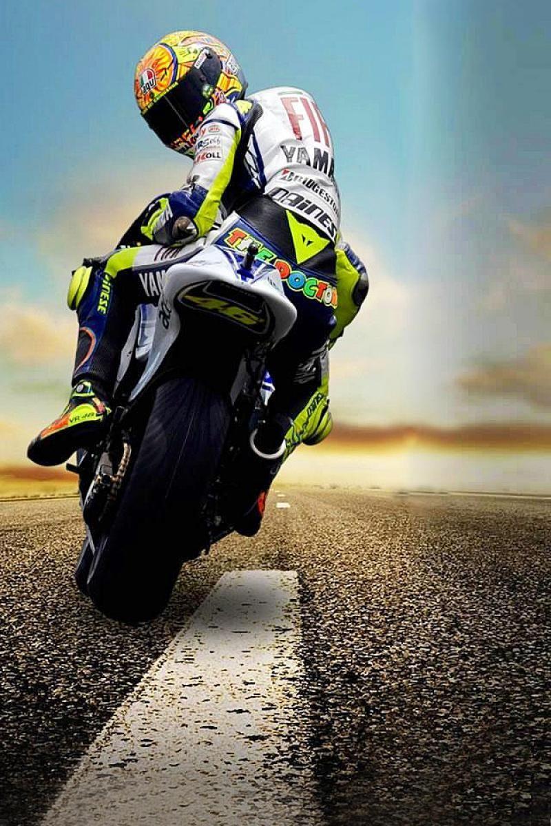 Petranche Valentino Rossi Grand Prix Moto Fond Ecran Moto