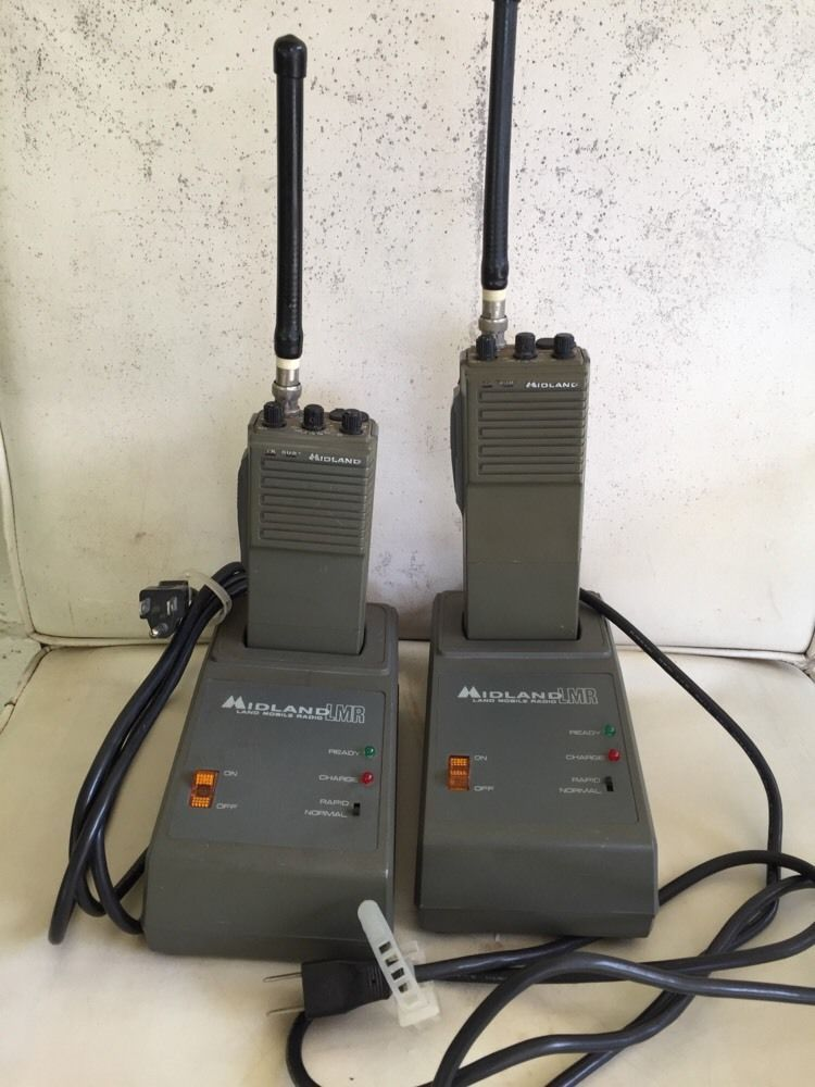 Midland 2 Way Radios Chargers For Parts Or Repair