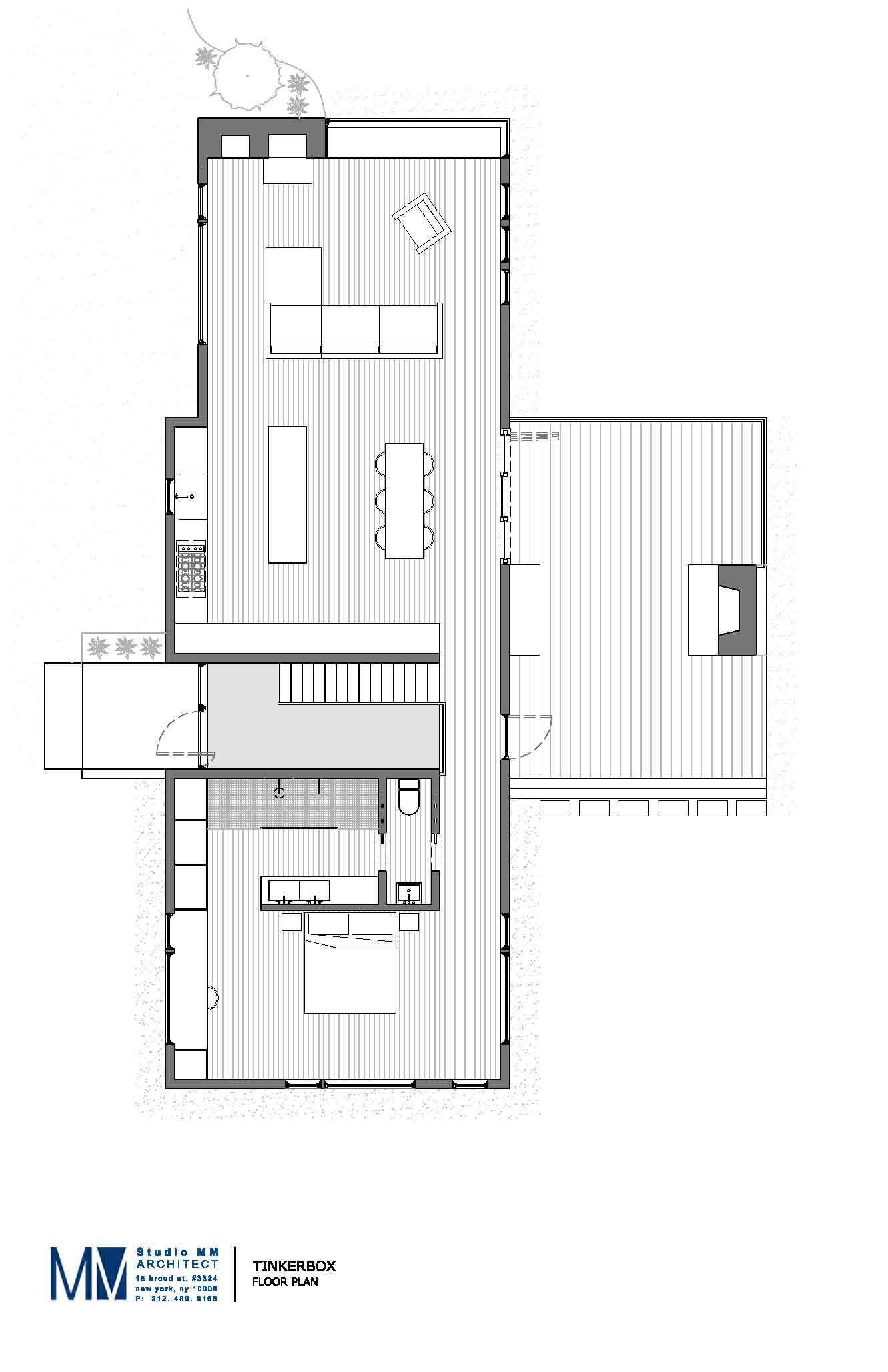 Gallery Of Tinkerbox Studio Mm Architect 11 House Floor Plans House Plans Floor Plans