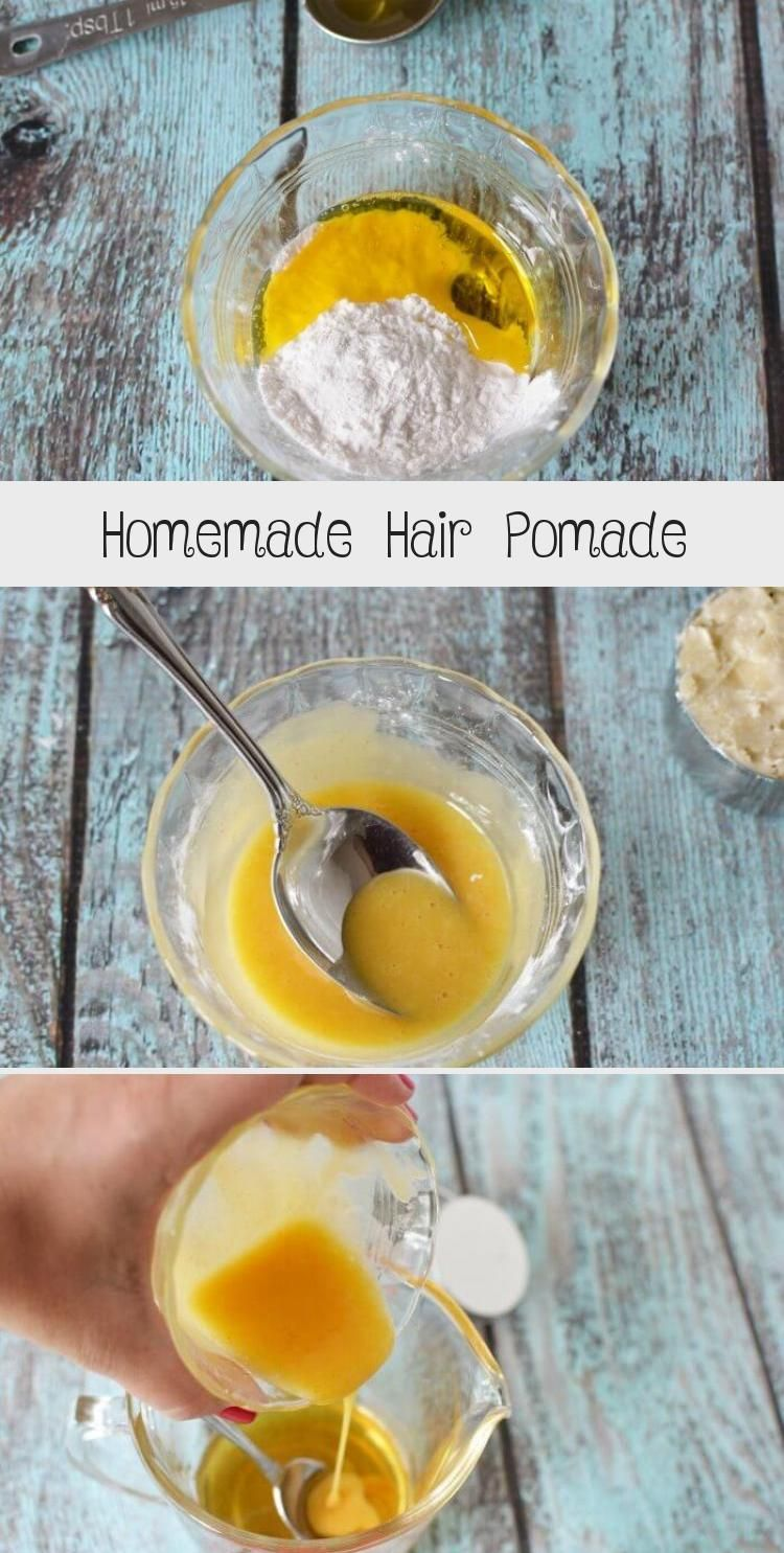 Homemade Hair Pomade in 2020 (With images) Homemade hair