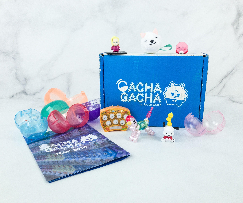 Gacha gacha crate may 2019 subscription box review