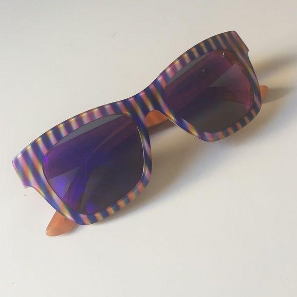 OXYDO sunglasses well made Italian brand OXYDO sunglasses well made Italian brand new without tags multi colored orange purple never worn OXYDO Accessories Glasses