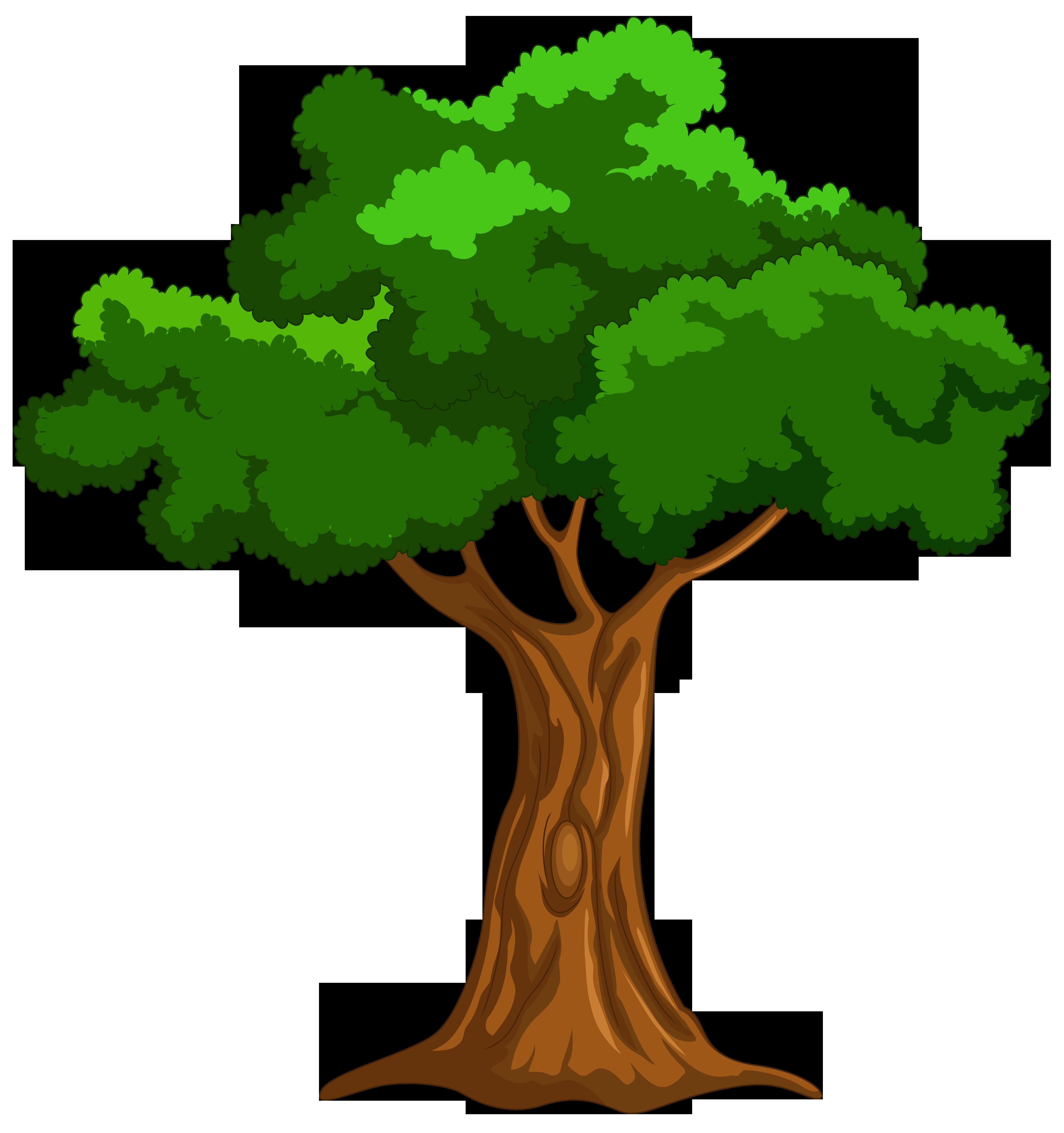 Cartoon Tree PNG Clip Art - Best WEB Clipart | Cartoon ...