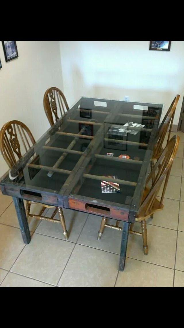 Firefighter Living Room Decor: Fire Ladder Table