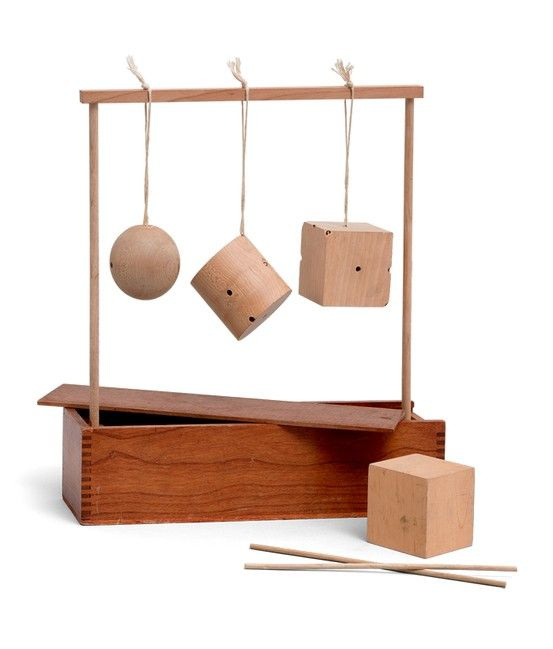 MoMA | Century of the Child Froebel Gifts