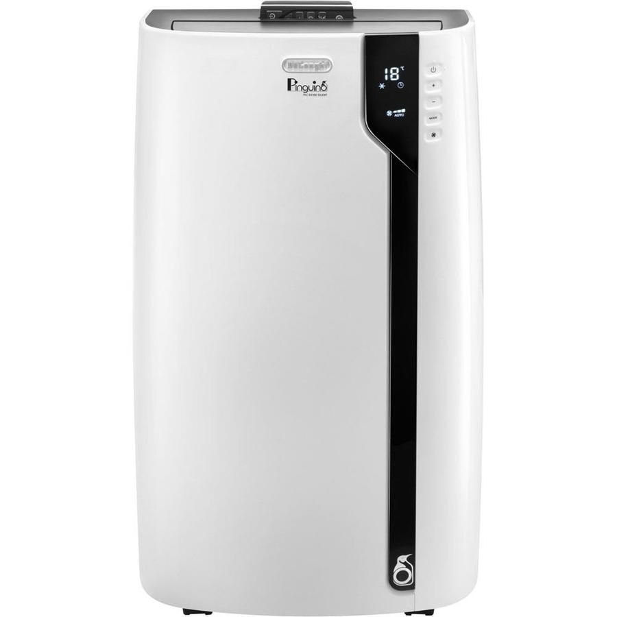 Delonghi 600 Sq Ft 115 Volt White Portable Air Conditioner Pacex140es In 2020 Air Conditioner With Heater Dehumidifiers Custom Comfort