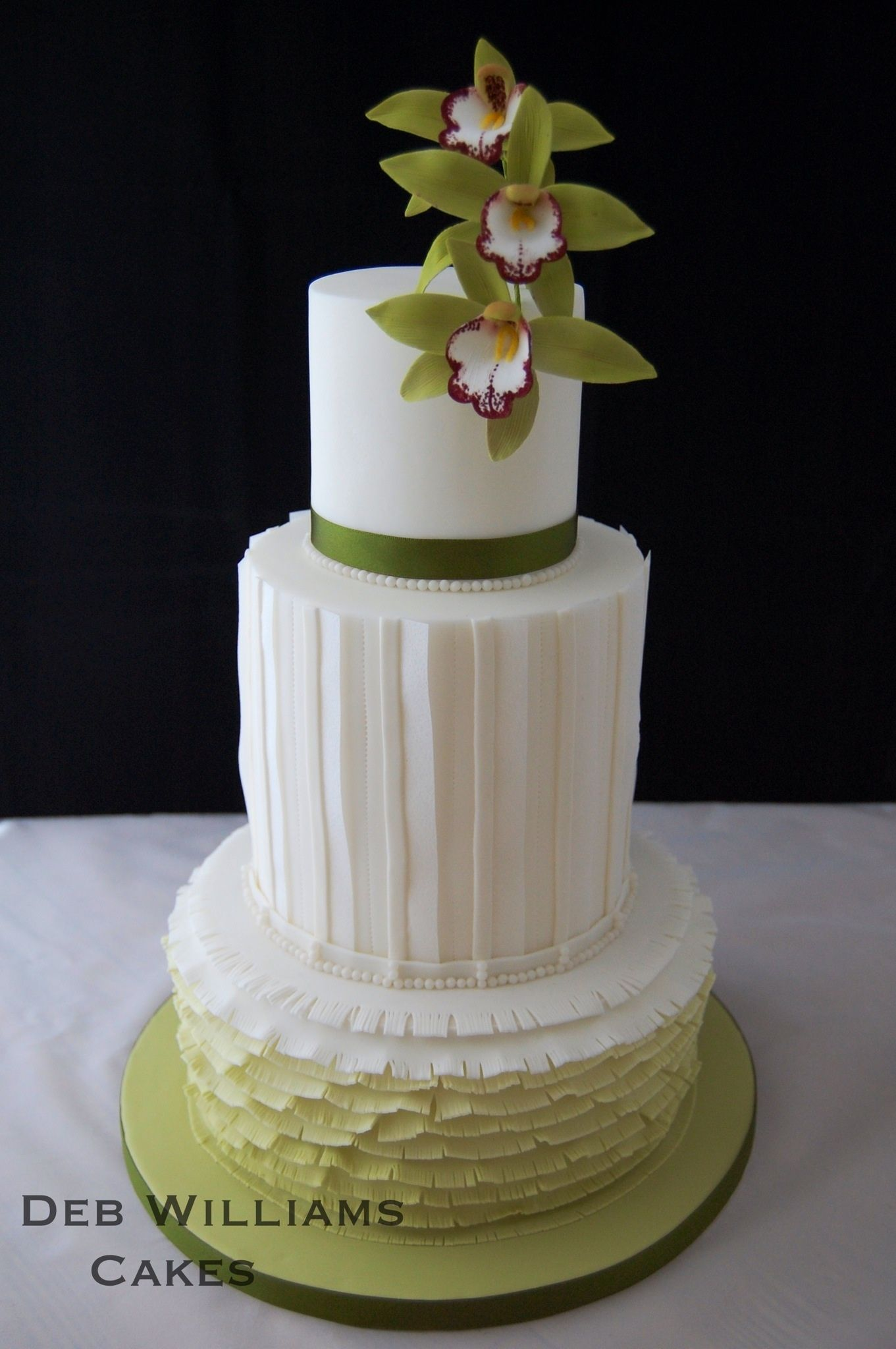 Fashion inspired cake by Deb Williams Cakes
