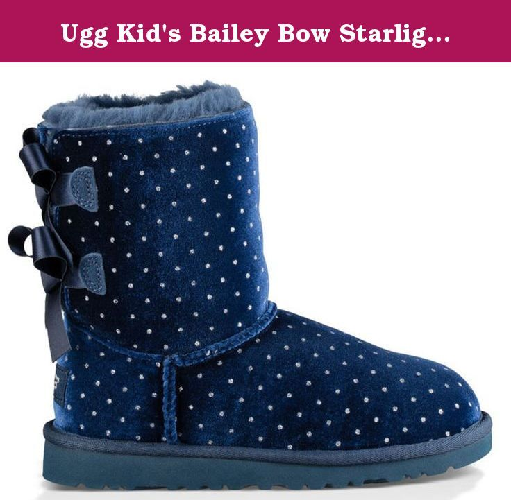 Bootey (12 Bow Starlight Boot de Ugg Kid Boot (12 Kid Little Kid M y Navy). 8f2944c - freemetalalbums.info