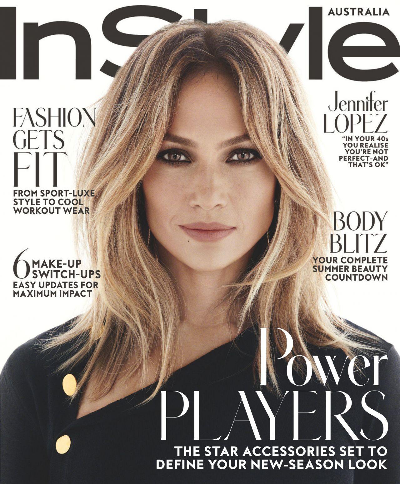 Jennifer Lopez Instyle Magazine A Attrici