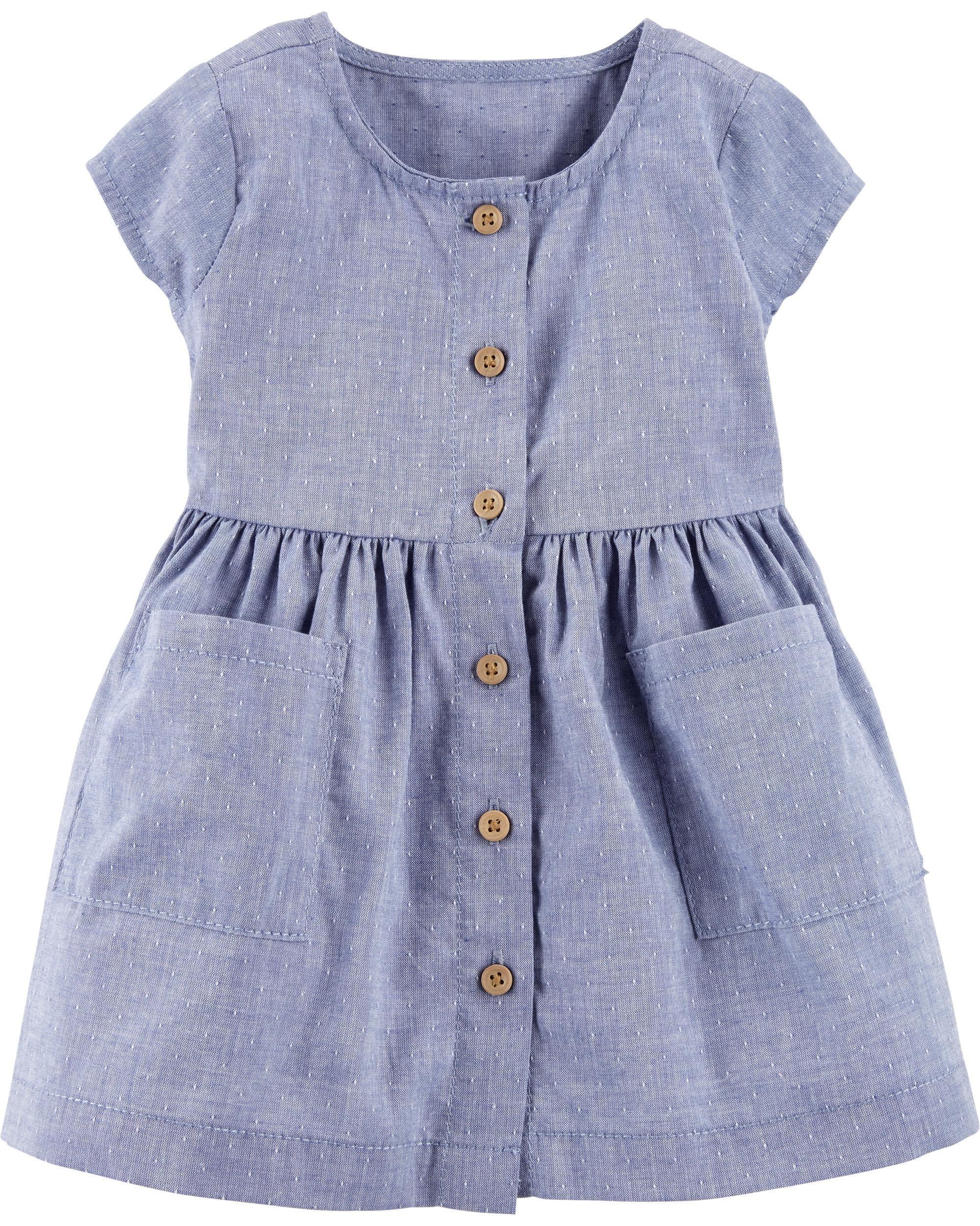 Certified Organic Dobby Dress