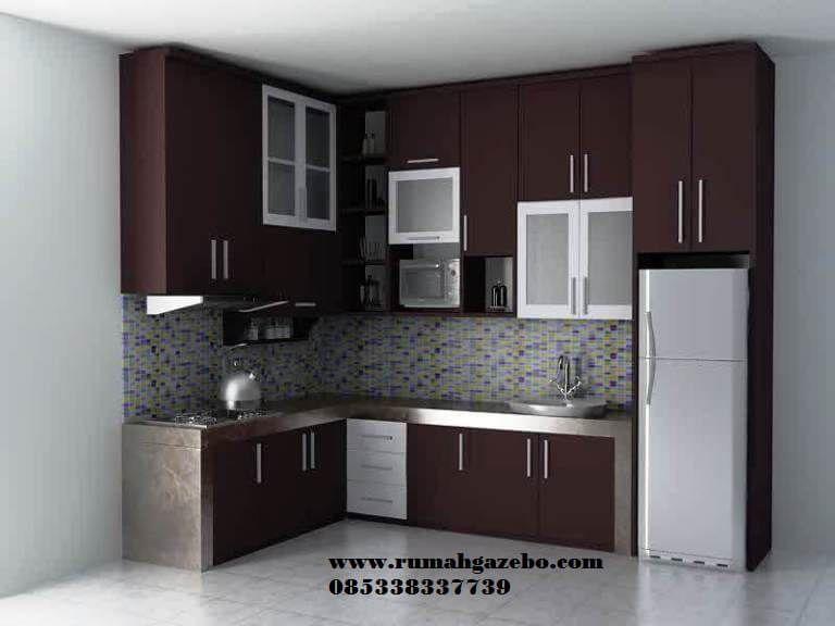 Harga Kitchen Set Minimalis Mungil Kitchen Set Murah Rumah Kayu