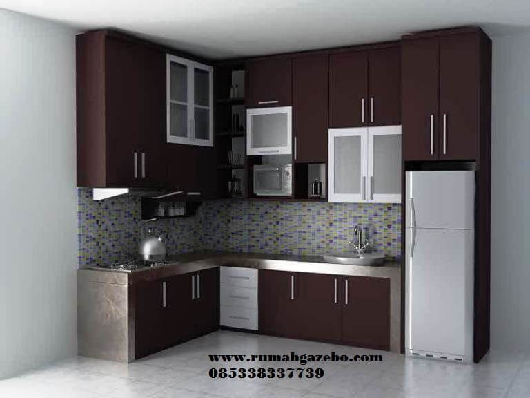 Harga Kitchen Set Minimalis Mungil Harga Murah Bahan Baku Kayu Jati