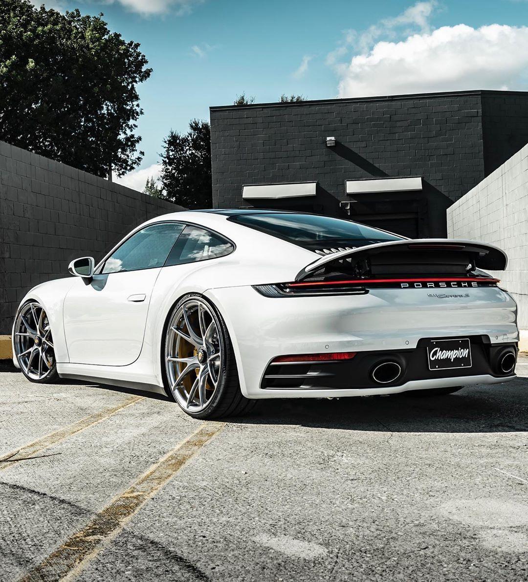 Kyle Fletcher On Instagram Would You Take Carrera White Porsche 992 Championmotorsport Vossen In 2020 Sports Cars Luxury Porsche Porsche 911