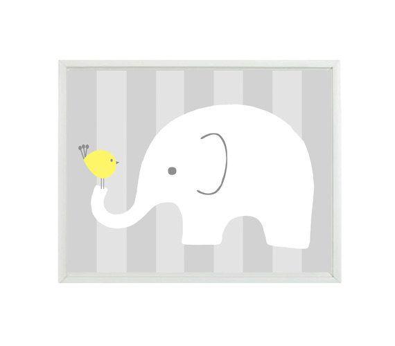 Wall Stickers Vinyl Decal Baby Elephant Animal Kids Room Nursery ig647