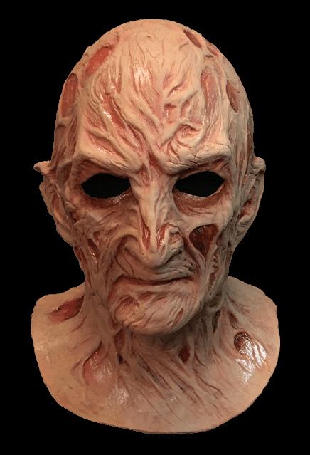 A Nightmare On Elm Street 4 The Dream Master Freddy Krueger Mask Freddy Krueger Mask Nightmare On Elm Street Halloween Masks