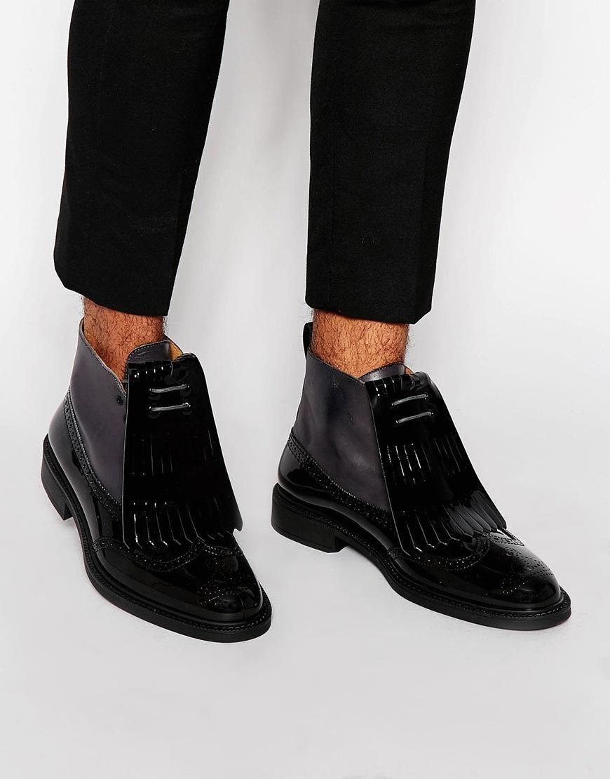 Buy Men Shoes / Vivienne Westowood Fringe Brogue Boots