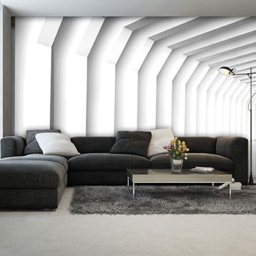 Photo Wallpaper 3d Effect Art Abstract White Tunnel Wall Mural 2653ve Ebay Photo Wallpaper Wall Murals Mural