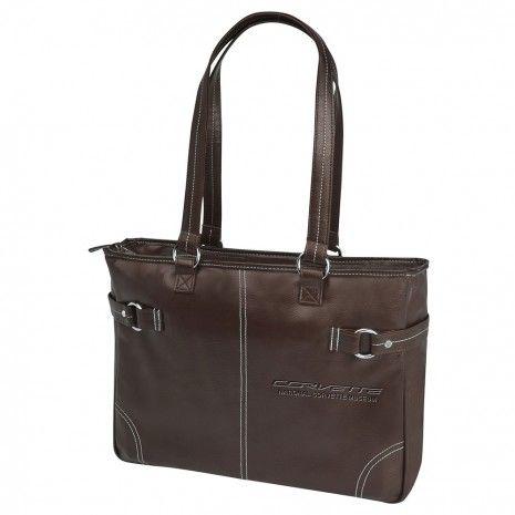 183819aed07c NCM Corvette Brown Business Handbag