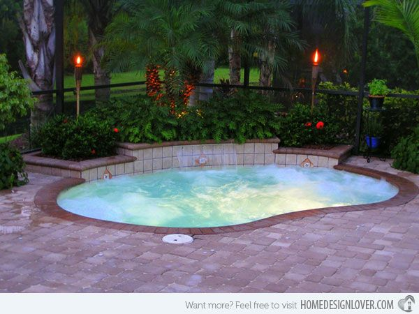 Beautiful small pools for your backyard small swimming for Garden mini pool