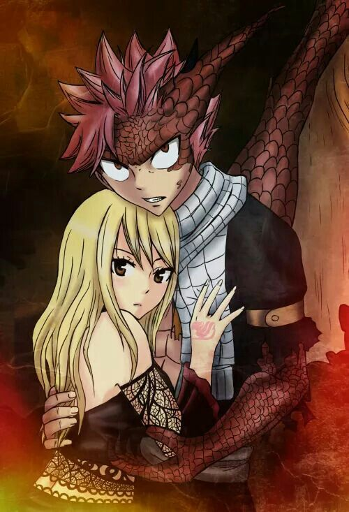 Lucy y Natsu (Fairy tail)
