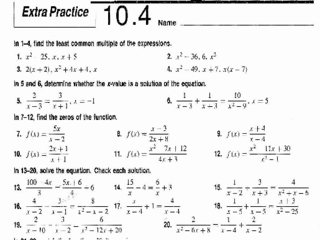 50 Solve Radical Equations Worksheet In