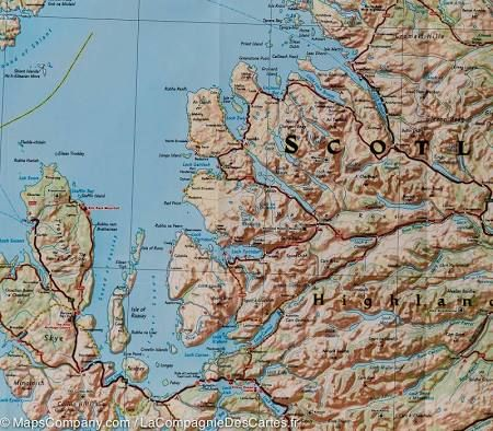 Scotland maps for sale google search scotland pinterest scotland maps for sale google search gumiabroncs Images