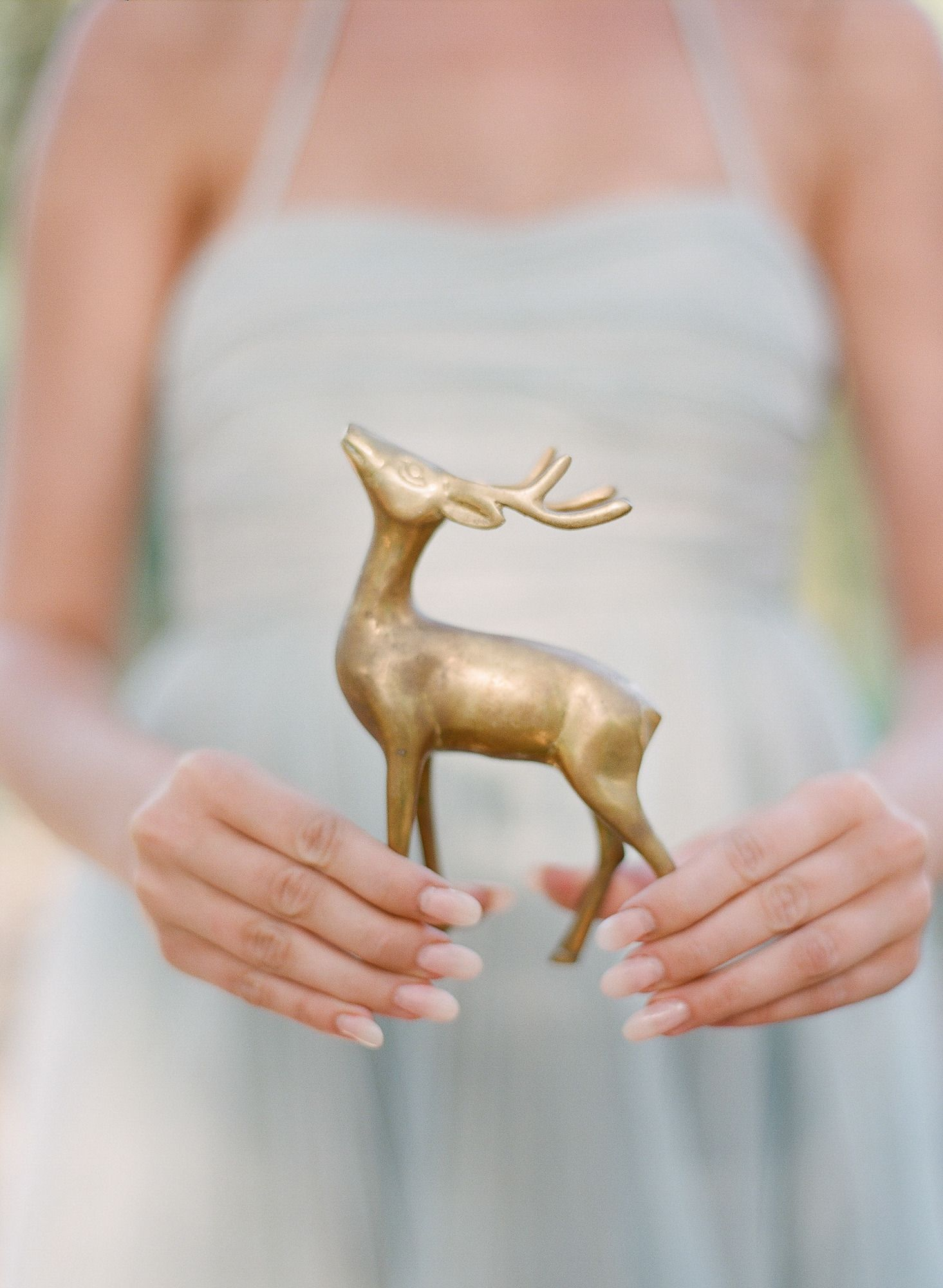 fall wedding details, gold #deer | Photography: Blush Wedding Photography - blushweddingphotography.com  Read More: http://www.stylemepretty.com/2014/04/22/whimsical-autumn-wedding-inspiration/
