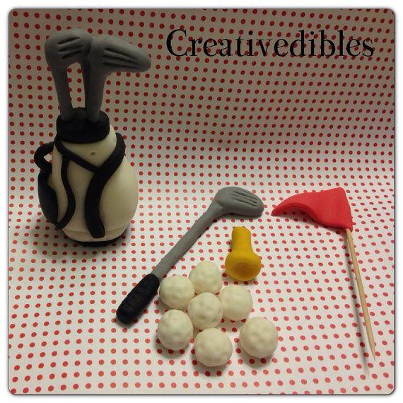 Making A Fondant Golf Bag Google Search Cake Making