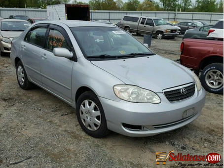 Tokunbo 2005 Toyota Corolla for sale in Nigeria * Sell At