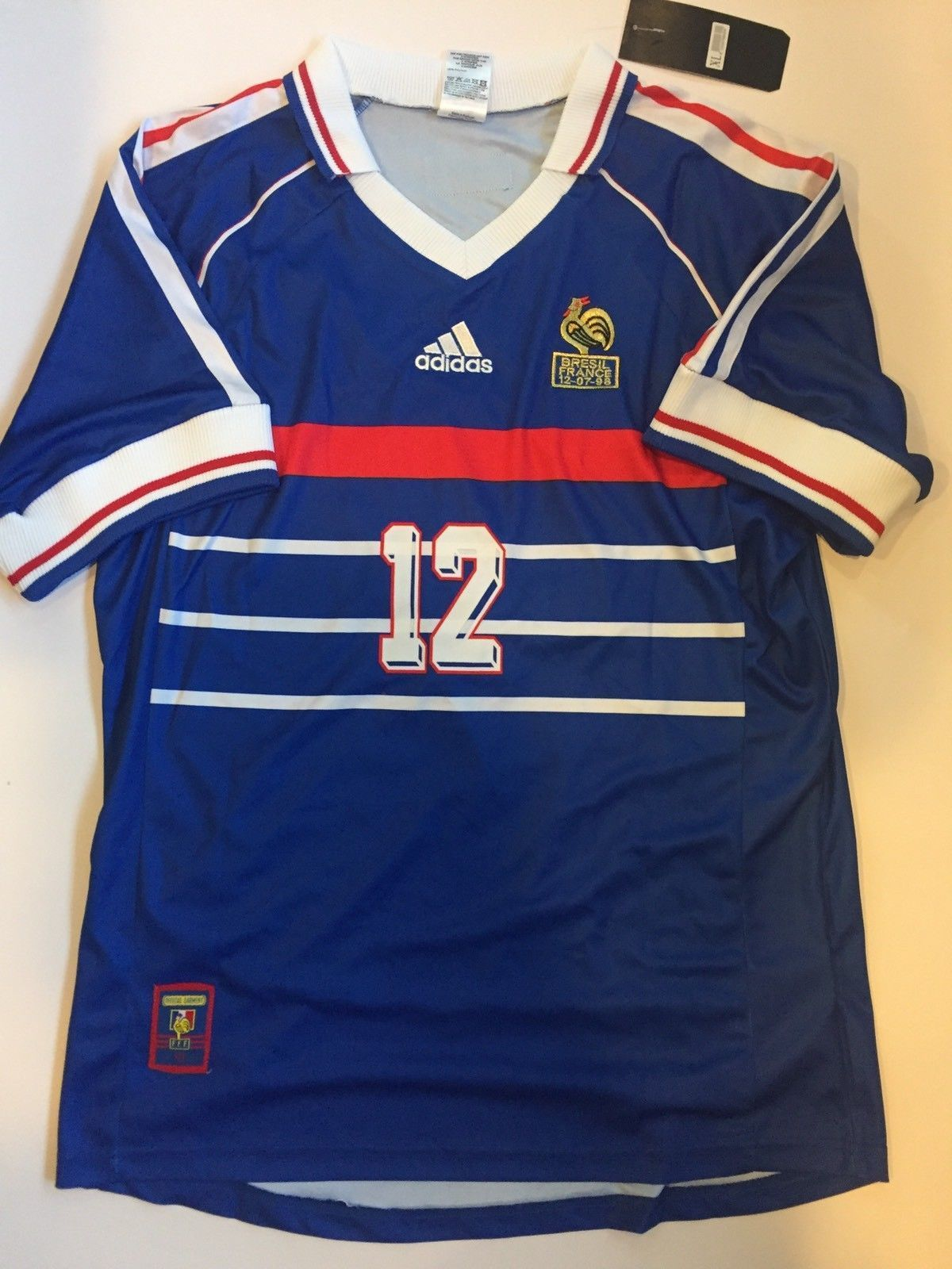 80c5a5ead Henry 1998 France World Cup Retro Soccer Jersey Vintage Classic Football  Shirt