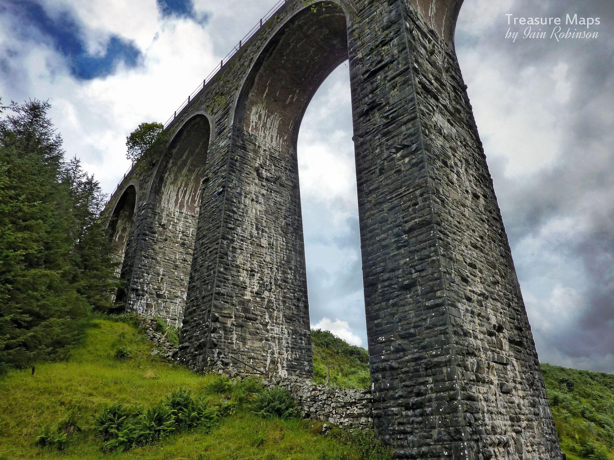 https://flic.kr/p/ALm3hd | Cwm Prysor Viaduct | On the closed Blaenau Ffestiniog-Bala line