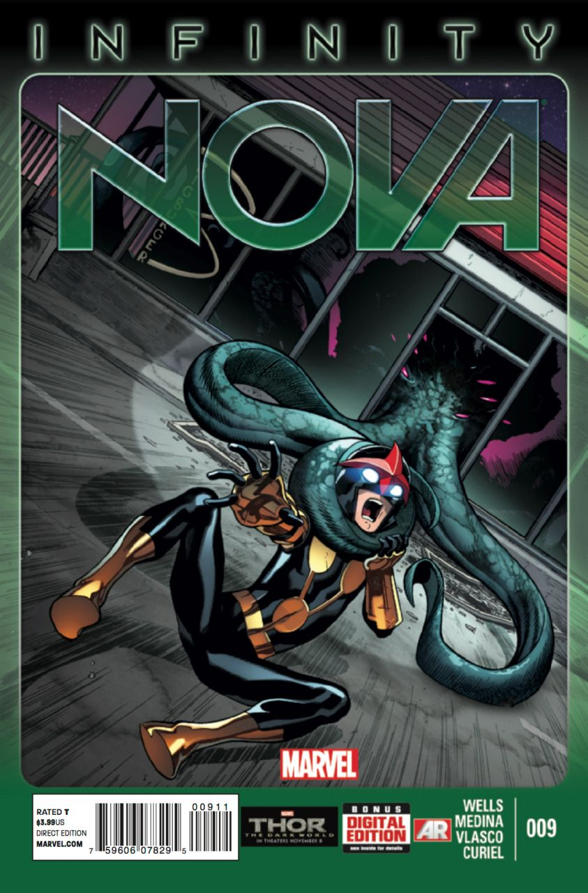 Nova #9 - Chapter Nine: Infinity² (Issue)