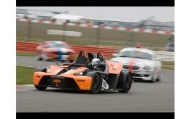 2008 ktm x bow racing debut front and side speed