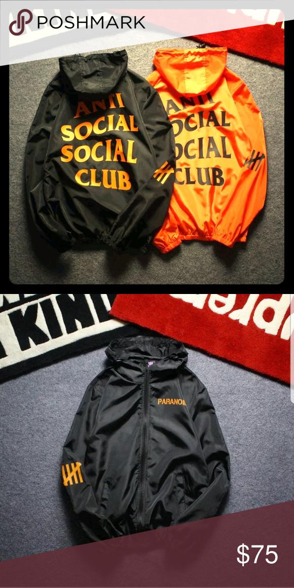 ee923b466dd8 Anti social social club windbreaker New brand new Anti Social Social Club  Jackets   Coats Windbreakers