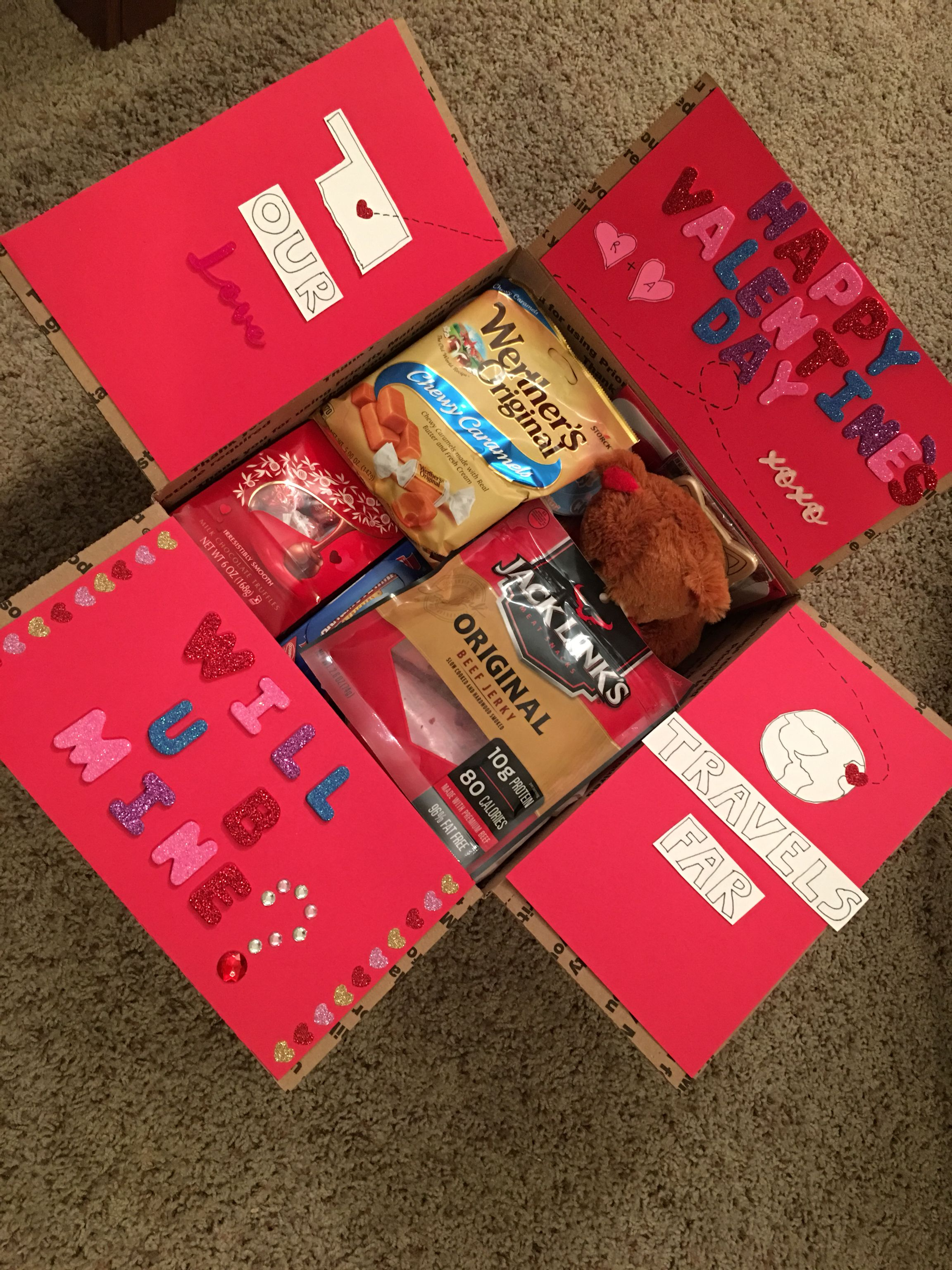 Valentines Day Military Care Package   Valentines day