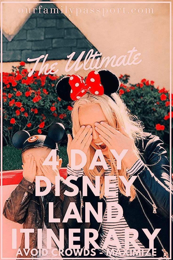 Photo of The Ultimate Disneyland Itinerary to Avoid Crowds   Our Family Passport