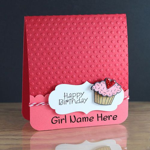 Print Name On Happy Birthday Cake With White Roses For Girlsetty