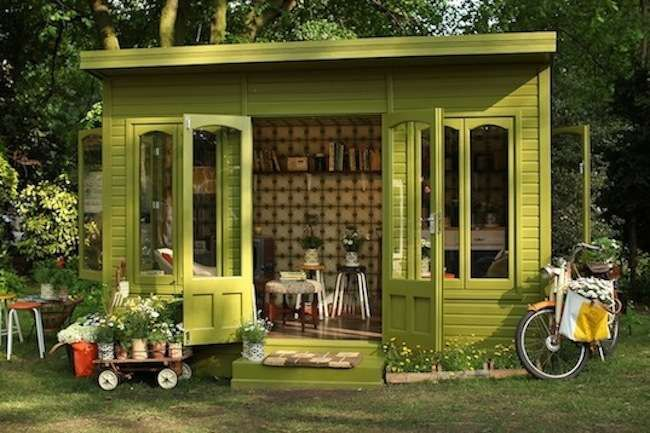Attrayant Tiny Houses · Shed Ideas   12 Designs For A Backyard Office Or Guest Bed    Bob Vila.
