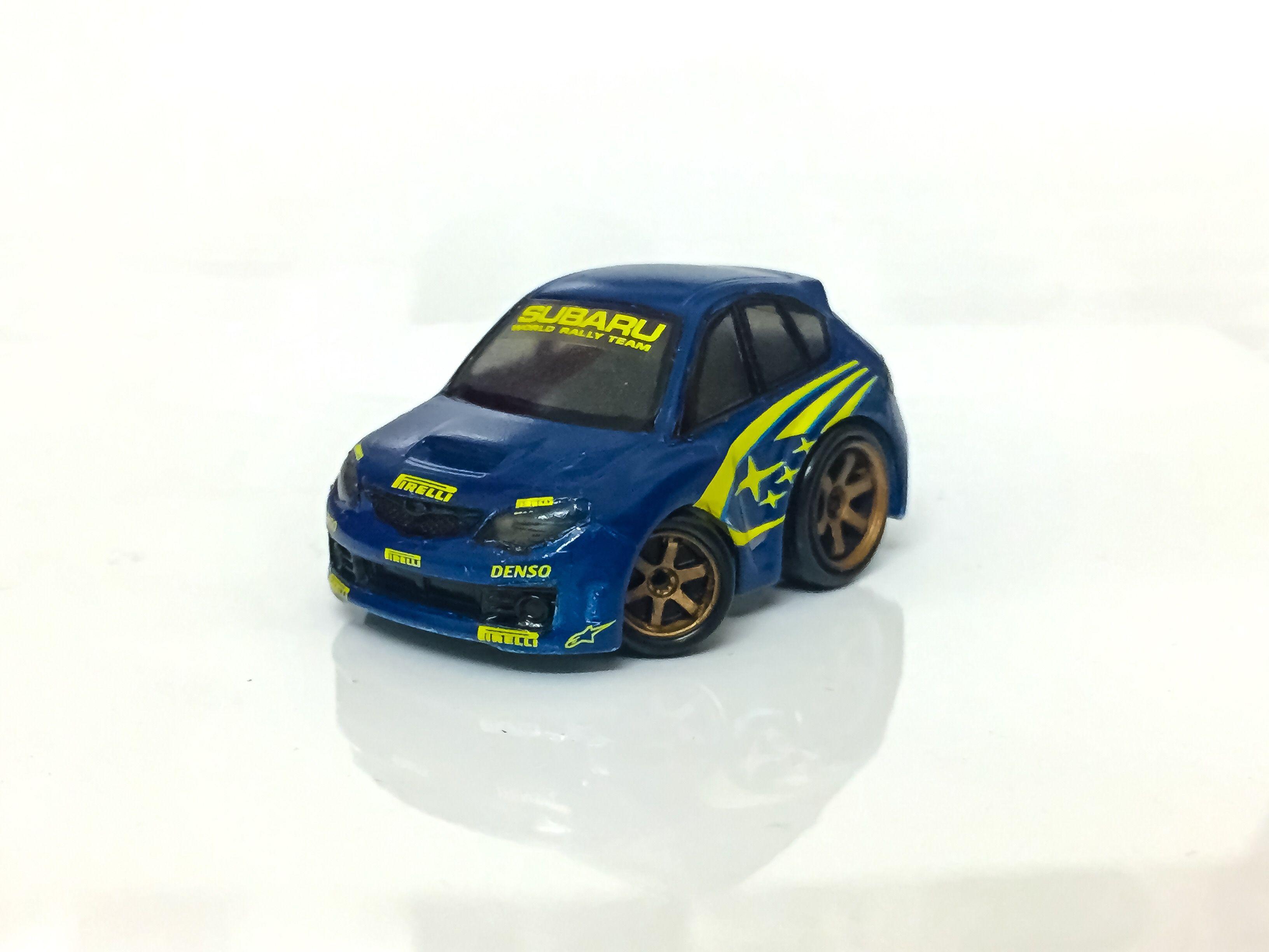 Choro Q Subaru Rally Decal Jiwacustom Rim Mertonsoi Choroq Choro Subaru Subaru Rally Subaru Toy Car