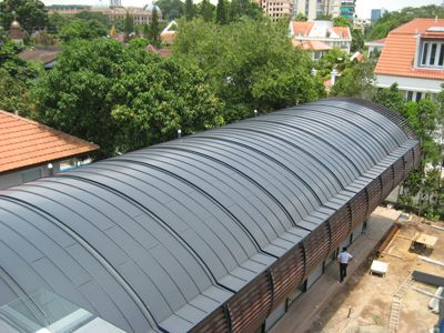 Curved Standing Seam Metal Roof Google Search