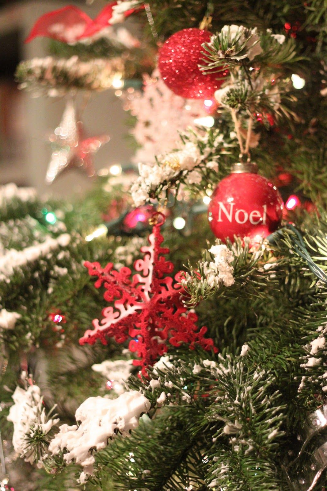 Mockingbird Cottage Homemade Christmas Tree Flocking Homemade Christmas Tree Holiday Decor Christmas Christmas
