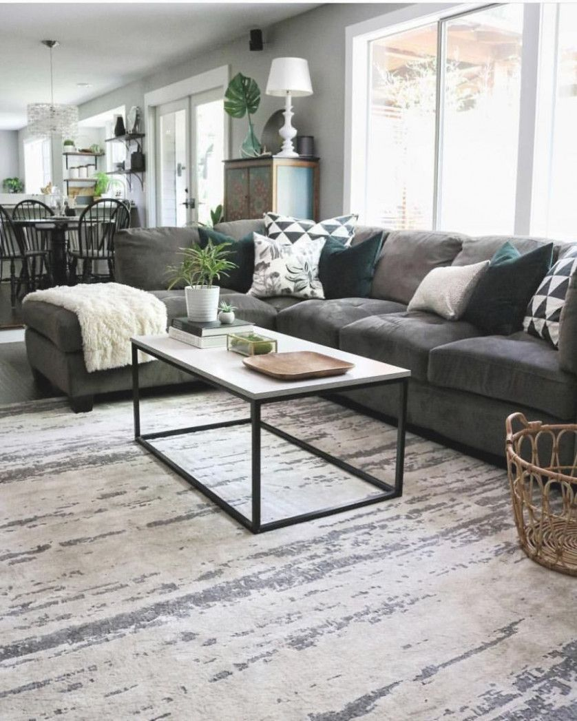 10 Living Room Ideas Sectional In 2020 Sectional Living Room Decor Charcoal Sofa Living Room Gray Sectional Living Room
