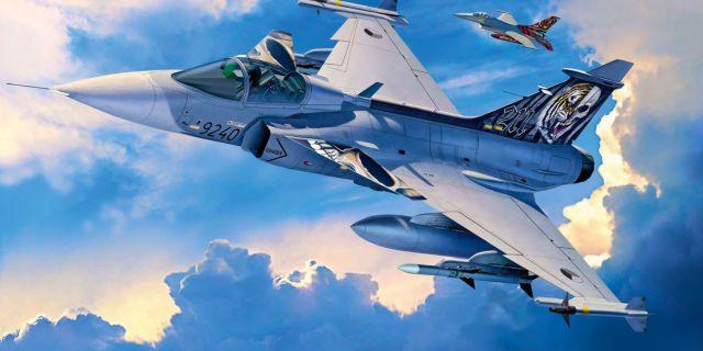 Saab Jas 39c Plane Sky Aircraft Aircraft Art Fighter Aircraft Desktop wallpaper 4k fighter jet