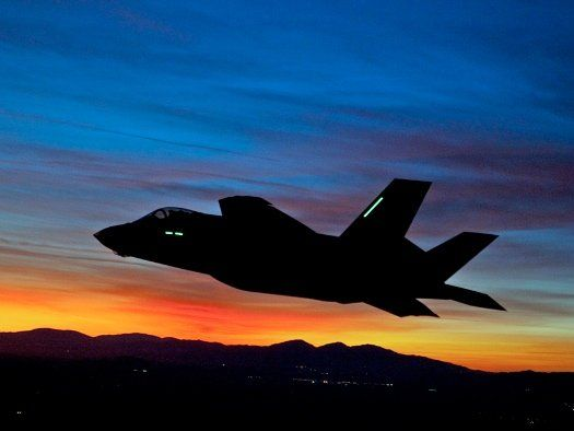 F35 first night flight by Lockheed Martin | adaptive